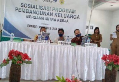 Melki Laka Lena Bersama BKKBN Sosialisasi Program Pembangunan Keluarga di Sabu Raijua